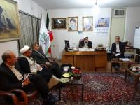 جلسه گردهمایی دبیران ستاد بازسازی شهرستانها و ستاد بازسازی استان