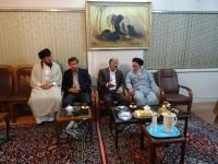 دیدار و بازدید بخشدار ماهیدشت از ستاد بازسازی عتبات عالیات استان