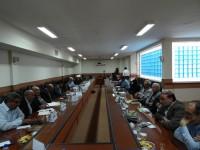 جلسه ستاد بازسازی عتبات کرمانشاه با مدیر امور استانهای ستاد مرکز
