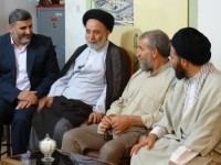 دیدار رزمندگان دوران دفاع مقدس با ستاد عتبات عالیات استان