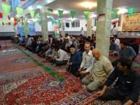 سخنرانی ریاست ستاد بازسازی در مسجد قمر بنی هاشم (ع)