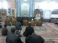 حضور ریاست ستاد در جمع نمازگزاران مسجد صباغ خیابان بهار
