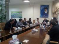 جلسه شورایی شهر کرمانشاه با حضور مسئولین ستاد عتبات عالیات استان