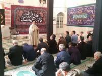 حضور ریاست ستاد به همراه چند تن از همکاران درمسجد امام رضا (ع) جهت جذب کمکهای مردمی