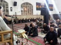 حضور مسئول ستاد بازسازی عتبات عالیات استان در مسجد علی بن موسی