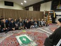 حضور ریاست ستاد در جمع مومنین مسجد حضرت نبی اکرم (ص) شهرک جلالیه