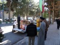 ارسال هفتمین مرحله کمکهای مردمی جمع آوری شده توسط ستاد به مناطق زلزله زده