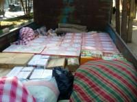ارسال پنجمین مرحله کمکهای مردمی جمع آوری شده توسط ستاد به مناطق زلزله زده