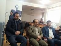 دیدار اعضای ستاد استان با بخشدار ماهیدشت
